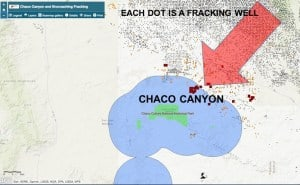 Chaco Fracking Map