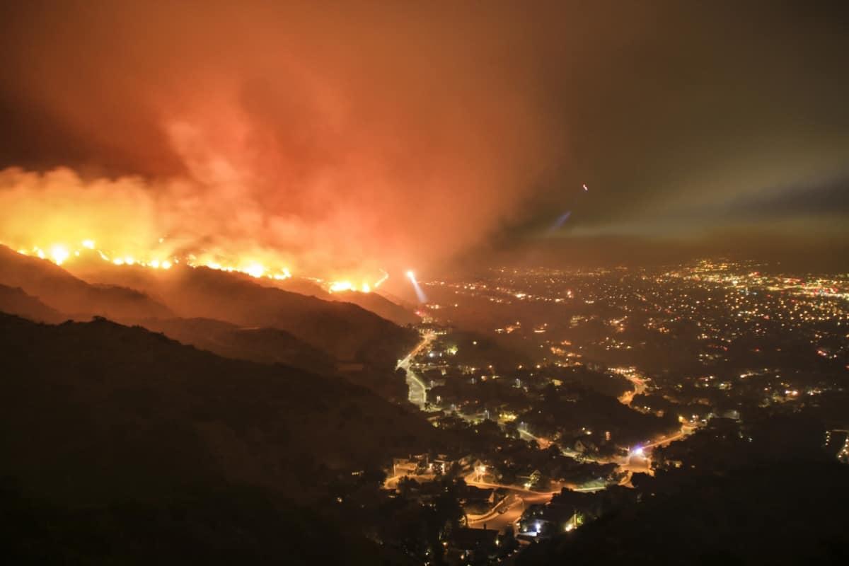 Notre Dame Burning