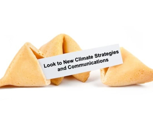 Will Old Climate Strategies and Communications Work in this New World?